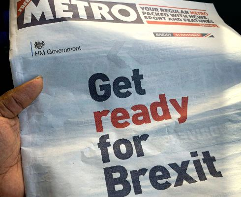 Get ready for Brexit - Photo by Habib Ayoade on Unsplash