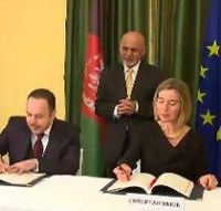 Afghanistan and EU sign cooperation deal