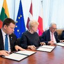 Baltic states sign energy synchronisation agreement with EU