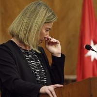 Mogherini in tears over Brussels attacks