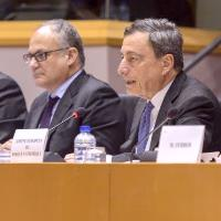 Brexit risk to Euro economy remains: ECB's Draghi