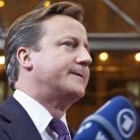 Cameron's speech was to warn of British drift to EU exit