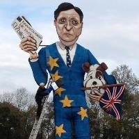 Russia's Putin, EU's Barroso burnt on British bonfires