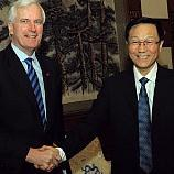 EU's Barnier calls for equal treatment in China