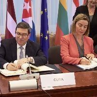 EU, Cuba sign historic cooperation deal