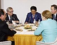 G7 leaders push free trade agenda