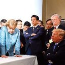 World leaders at G7 not impressed by Trump