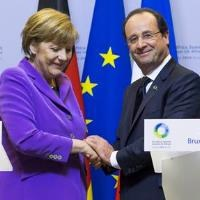 Merkel takes centre stage in EU's year of crises