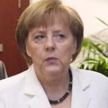 Merkel tells voters Greece shouldn't have joined euro