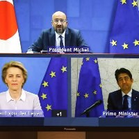 EU, Japan strenthen ties to face COVID-19 crisis