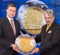 Greek design picked for commemorative euro coin