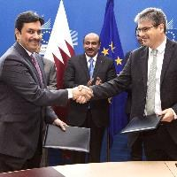 EU and Qatar sign aviation agreement, first with a Gulf state