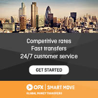 OFX - Get a better rate on your international money transfers