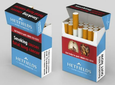 What will future cigarette packs look like?
